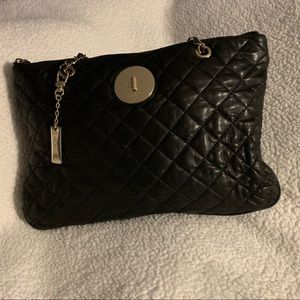 Quilted leather bag, so soft!